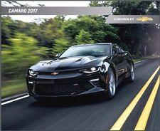 2017 Chevrolet Camaro 38-page Original Car Sales Brochure Catalog - SS 1LE ZL1
