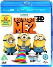 Despicable Me 2 ( Blu-ray, 2013) 1-Disc 2D Blu-ray. Nearly new condition