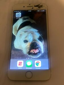 Apple iPhone 6- 64GB - (AT&T) Model # A1549 Cracked Screen
