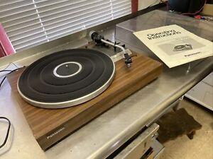 Vintage Panasonic Automatic Turntable Record Player RD-3500