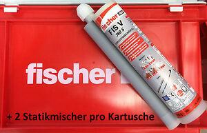 Fischer FIS V 360 S Injektionsmörtel Verbundmörtel Mörtel Kartusche m. Zulassung