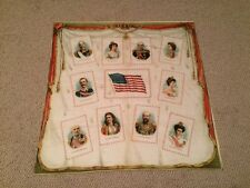 1910's S110 Tobacco Pillow Top Silk Premium - #3 Kings & Queens of Countries