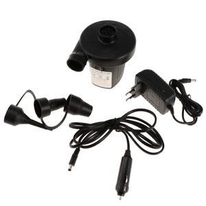 Portable Auto Car Air Compressor Electric Tire Inflator Boat Air Pump Tool