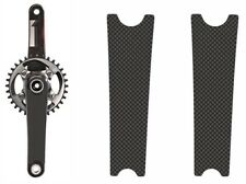 Crank Set Stickers Decals for Mtb CARBON Mountain Bike Bicycle Adhesive 2 Pcs