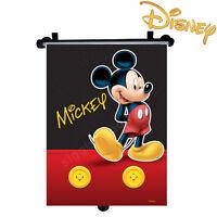 Disney Mickey Car Window Roller Blind Sun Shade for Children Kids Baby Boy Girl