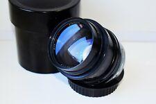 RARE 1970 BLACK JUPITER-9 85mm f/2 Rangefinder USSR lens Kiev/Contax mount