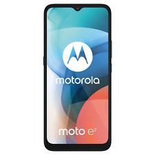 """Motorola Moto E7 Aqua Azul 6.5"""" 32GB 4G Desbloqueado Y Sim Libre"""