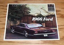 Original 1966 Ford Full Size Car Sales Brochure 66 LTD Galaxie Custom Wagon