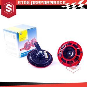 Genuine Hella Supertone Dual Horn W/ Relay UTE 4x4 SUV MPV Sedan Universal-New
