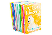 My Secret Unicorn 10 Book Collection by Linda Chapman Rising Star Friends Fore