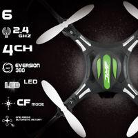 4CH RTF JJRC H8 Mini Drone 2.4Ghz 6-Axis GYRO RC Quadcopter 4 LED Light Headless