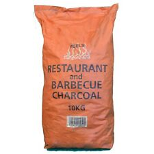 More details for restaurant grade cooking lumpwood charcoal 10kg bag, perfect for charcoal bbq's,