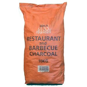 Restaurant Grade Cooking Lumpwood Charcoal 10kg Bag, Perfect For Charcoal BBQ's,