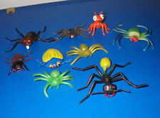 Lot of 9 Toys Toy Insects Bugs Misc. Assorted Figures Plastic