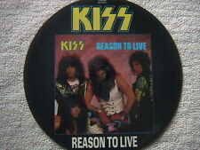 """KISS """"REASON TO LIVE"""" EP PICTURE DISC 1987 U.K. IMPORT MINT UNPLAYED"""