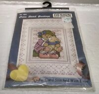 Design Works 357 Counted Cross Stitch Greeting Card Craft Kit - NEW Sealed NIP