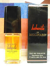 VINTAGE HABANITA DE MOLINARD EAU DE TOILETTE 0.84 oz / 25 ML NIB HARD TO FIND