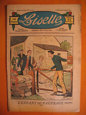LISETTE N° 47 du 25/11/1934 -14 ème année -éditions de Montsouris