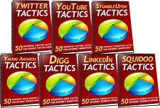 350 Powerful Social Media Tactics ebooks on CD