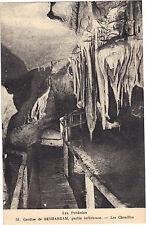 65 - cpa - Grottes de BETHARRAM - Les chenilles