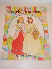 VINTAGE EARLY AMERICA PAPER DOLL BOOK    **MINT**UNUSED**