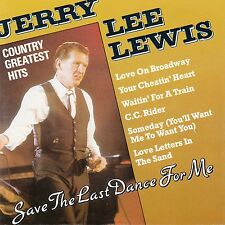JERRY LEE LEWIS : COUNTRY GREATEST HITS / CD - TOP-ZUSTAND