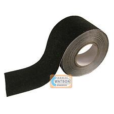 100mm x 20m noir ruban anti Dérapage adhérence élevée SOUTIEN adhésif - dérapant