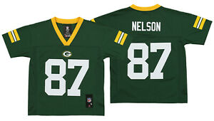 Outerstuff NFL Kids Green Bay Packers Jordy Nelson #87 Mid Tier Jersey, Green