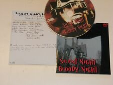 Silent night, bloody night.Grusom horror, T Gershung, 1972 John carradine R2 DVD