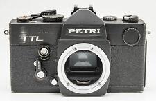 Petri TTL SLR Kamera Spiegelreflexkamera Gehäuse schwarz