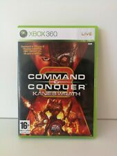 Command & Conquer 3 Kane's Wrath (Microsoft Xbox 360, 2008) - PAL - with manual