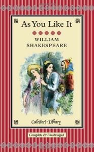 New, As You Like It (Collector's Library), Shakespeare, William, Book