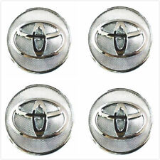 4X Toyota Corolla Yaris Prius Silver Wheel Rim Center Hub Caps 2.25''42603-02320
