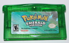 Pokemon Emerald Game Cartridge Nintendo Gameboy Advance Dead Battery 2005