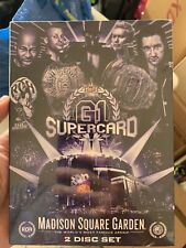 ROH NJPW G1 Supercard Of Honor DVD -Brand New MSG OOP Ring Of Honor