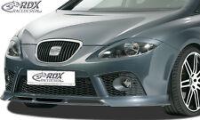 RDX Frontspoiler SEAT Leon 1P FR Cupra -09 Front Spoiler Lippe Vorne Ansatz ABS