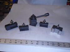 MACHINIST LATHE MILL Machinsit Micro Lathe Quick Change Tool Post Set 250