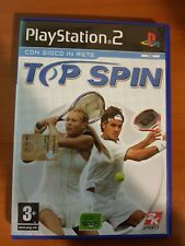 TOP SPIN - PLAYSTATION 2 PS2 USATO