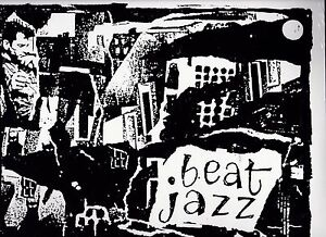 BEAT JAZZ: PICTURES FROM THE GONE WORLD LP - JACK KEROUAC SUN RA DAVID AMRAM