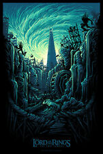 Lord of the Rings Two Towers Alt Movie Poster Dan Mumford No. /200 NT Mondo