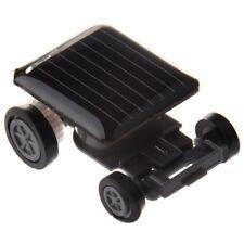 Mini voiture solaire alimente jouet robot de curse H9V6