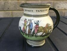 More details for rare & neat royal doulton vintage 'battle of hastings bayeux tapestry' jug