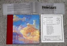 "RARE:DISNEY ""THE ART OF HERCULES"" 1ST EDITION ART BOOK SIGNED BY 16 ARTISTS-WOW!"