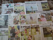 Louis Oosthuizen - Golf - The Open 2010 clippings/cuttings/articles