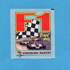 F1 GRAND PRIX - PANINI 1980 - BUSTINA FIGURINE ANCORA CHIUSA - OTTIMA