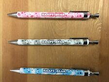 Happy Bear  Pattern Mechanical Pencil, Propelling Pencil (0.5 mm) - 3 Pieces