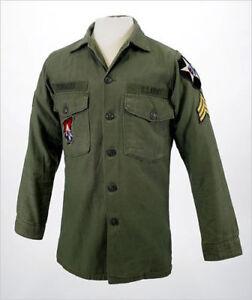 JOHN LENNON US MILITARY ARMY VINTAGE VIETNAM SHIRT JACKET THE BEATLES REVOLUTION
