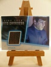 Star Trek Into Darkness relic trading costume card RC11 Zachary Quinto as Spock
