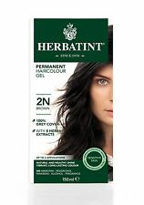 HERBATINT HERBAL NATURAL HAIR COLOUR DYE BROWN 2N 150ml - AMMONIA FREE