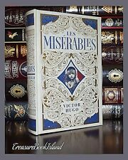 Les Miserables by Victor Hugo New Sealed Leather Collectible Hardcover Deluxe